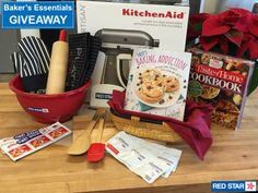 Enter for a chance to win this fabulous Baker's Essentials prize package! Tasty Bread Recipe, No Rise Bread, Christmas Giveaways, Dinner Rolls, How To Make Bread, Bread Baking, Yummy Treats, Food Porn, Dessert Recipes
