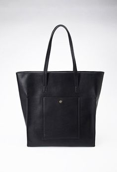 Structured Faux Leather Tote from Forever 21 $29,90