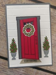 Pepperly Rose- Maria Kandylas Independent Stampin Up Demonstrator: Stampin Up! At Home With You Bundle Christmas Card...