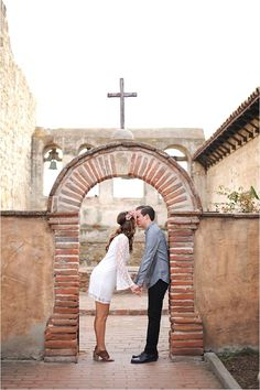 Whimsical San Juan Capistrano Engagement Session by McCune Photography