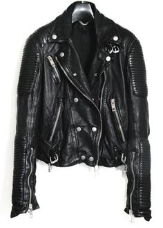 Burberry prorsum motorcycle jacket. WANT  Me Too.