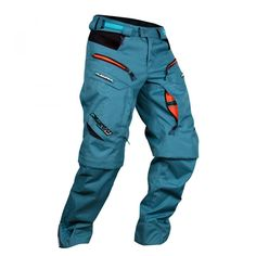 Platzangst Bulldog Downhill trousers Gentlemen http://downhill.cybermarket24.com/platzangst-bulldog-gentlemen-orangeblue-size-l-downhill-trousers/