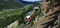 Leadille Train. Volumes of living history...A Colorado adventure you'll never forget.