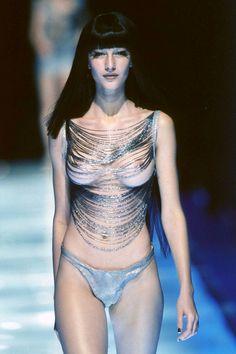 Alexander McQueen S/S 1998.