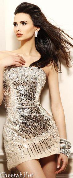 SHERRI HILL -Simmering Mini Dress