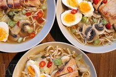 Kotona tehtyjä: Chicken ramen soup
