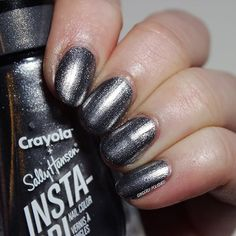 Sally Hansen 'Sonic Silver' | Metallic Nail Polish (Crayola Glam Rock Collection) @gingerlypolished