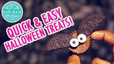 Learn how to create 4 different quick & easy treats for Halloween! Get more from Julia at: http://www.youtube.com/user/simpleDIYs Check out all of Julia's HG...