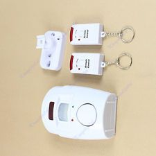 Home Security System Wireless IR Infrared Motion Sensor Detector Alarm Remote