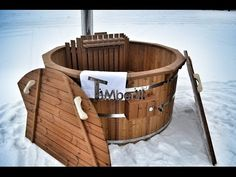 Thermo hout serie Hottub Deluxe Model - TimberIN
