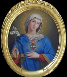 """Immaculate Heart of Mary - """"At the Heart of Every Christian is the Heart of Mary"""" - Article from  """"Catholic Spiritual Direction"""""""