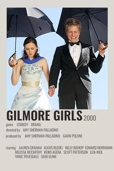 Iconic Movie Posters, Iconic Movies, Film Posters, Good Movies, Gilmore Girls Movie, Gilmore Girls Poster, Glimore Girls, Movie Covers, Alternative Movie Posters