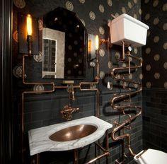 27 Gothic Bathrooms and Design Ideas Part 1
