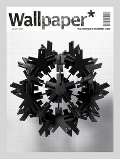 The Wallpaper* asterisk provided the inspiration for Bibliothèque's cover