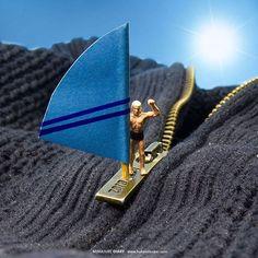 https://flic.kr/p/Kri2U6 | MINIATURE DIARY www.hakandenker.com Zipper surf…