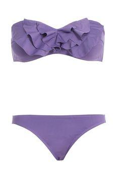 fbef3c6d5fa85 Purple strapless bikini these are the cutests swim suits! love this swim  suit!