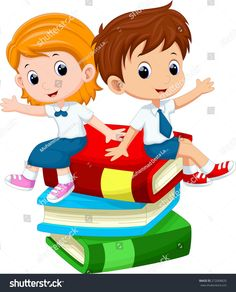 boy and girl sitting on book illustration, Student Cartoon , kids transparent background PNG clipart Education English, Elementary Education, Kids Education, Education Quotes, Student Cartoon, Cartoon Kids, Cartoon Clip, School Clipart, Educational Technology