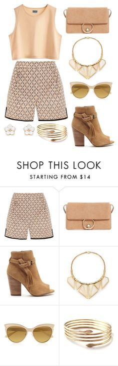 """""""Untitled #9835"""" by beatrizibelo ❤ liked on Polyvore featuring MTWTFSS Weekday, J.Crew, MANGO, Joe's Jeans, A Peace Treaty, Vivienne Westwood and Accessorize"""