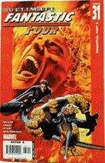 ULTIMATE FANTASTIC FOUR #31 Marvel Mark Millar, Ultimate Marvel, Fantastic Four, Break Free, Battle, Earth, Amazon, Building, Amp