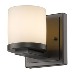 Z-Lite 1912-1S-BRZ 1 Light Wall Sconce