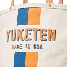 Yuketen logo tote bag.