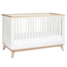 Scoot 3-in-1 Convertible Crib with Toddler Rail