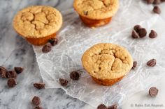 These peanut butter banana blender muffins take just minutes to mix up in the blender and result in soft, healthy mini muffins that the kids will love!