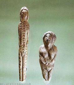 For decades it was believed that many of the tiny Mal'ta and Buret figurines…