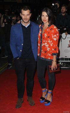Jamie e moglie Amelia a Londra