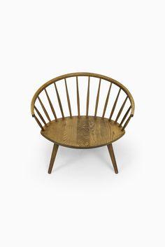 Yngve Ekström Arka easy chairs in oak at Studio Schalling