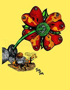 """""""Flor de Lixo"""""""