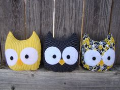 Hey, I found this really awesome Etsy listing at http://www.etsy.com/listing/120991401/owl-plush-mini-stuffed-owl-set