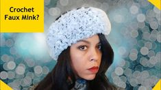 Lion Brand Go for Faux yarn Fur Crochet Ear Warmer In this tutorial, we are going to use Lion-brand Go for Faux yarn to create this fur crochet ear warmer. Lion Brand, Crochet Headband Tutorial, Crochet Headbands, Ear Warmers, Half Double Crochet, Chain Stitch, Crochet Yarn, Shirt Shop, Faux Fur