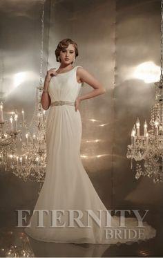 Eternity Bride captures romance and timeless elegance. Couture 2015, Boutique Design, Timeless Elegance, One Shoulder Wedding Dress, Ivory, Bride, Elegant, Wedding Dresses, How To Wear