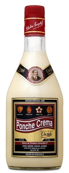 El tradicional Ponche Crema para acompañar las hallacas el 24! demasiado sabroso!