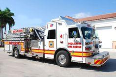 Boca Raton Fire Department Ladder Truck 4 http://setcomcorp.com/integrated-seat-communications.html