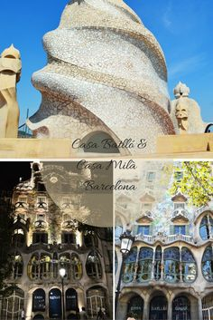 Let's discover two magical places together: Casa Batlló & Casa Milà in Barcelona! #travel #travelblog #barcelona #gaudi #architecture #art