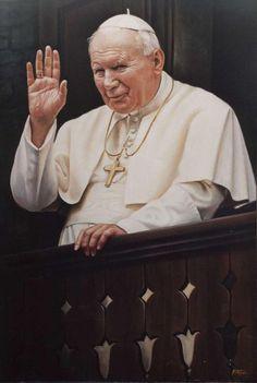 St John Paul Ii, Saint John, Juan Pablo Ll, Perfect Love, Catholic, Saints, Two By Two, History, Life