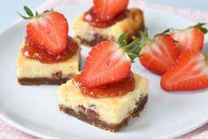 Philadelphia aardbeien cheesecake repen - Laura's Bakery
