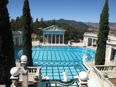 I am not much in awe of money. But, oh that swimming pool. If only I could don a bathing cap and return to the days of The Great Gatsby.