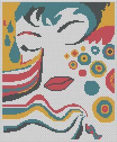 Cross Stitch Charts, Cross Stitch Patterns, Plastic Canvas, Kids Rugs, Crochet, Crafts, Design, People, Women