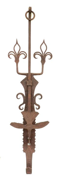 18th Century Wrought Iron Trammel