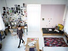 Home of Aurelie L. Lofts, Turbulence Deco, Attic Spaces, Work Spaces, Style Deco, Blog Deco, Interior Design Inspiration, Room Interior, Decoration