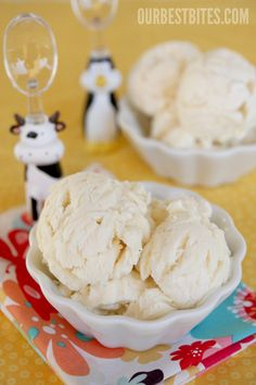 Homemade ice-cream without the machine....cool.