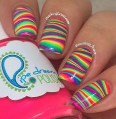 Best Colorful Stylish Summer Nails Design Ideas20