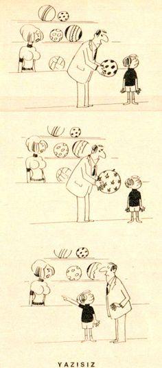 OĞUZ TOPOĞLU : oğluna top beğendirmeye çalışan baba 1973 hayat de...