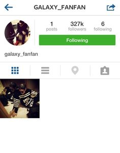 140407 Kris officially joined Instagram today! Follow →galaxy_fanfan ←(≧∇≦)#EXO ( His username is so adorable and he's gained 300k+ followers in 6 hours! )