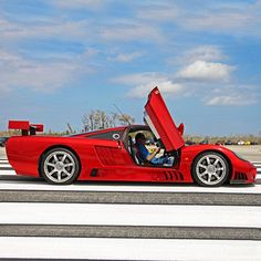 Saleen S7 red devil #exoticcars