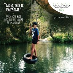 The rabbit hole is a magical place for children and adults alike! Especially when they're together and eager to bond. Bring your kids to Amanvana...  #kids #magicalplace #naturelovers #luxuryresort #coorg — at Amanvana Spa Resort.
