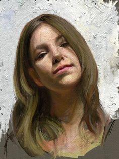 Jasmine Commerce by David Jon Kassan- ArtRage for iPad Painting.jpg 768×1,024 pixeles